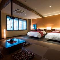 ◆囲炉裏OLD satoyama-Jr suite◆温泉風呂付(60㎡)15年冬OPEN