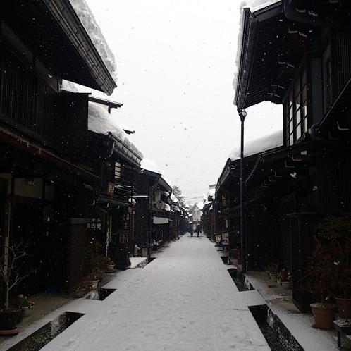 古い町並【冬】