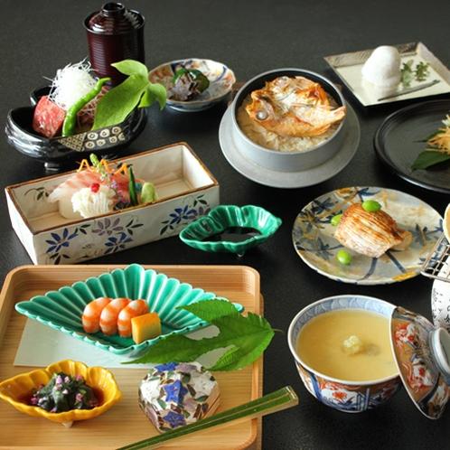 日本料理「竹翠」 和食会席一例