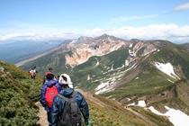十勝岳登山