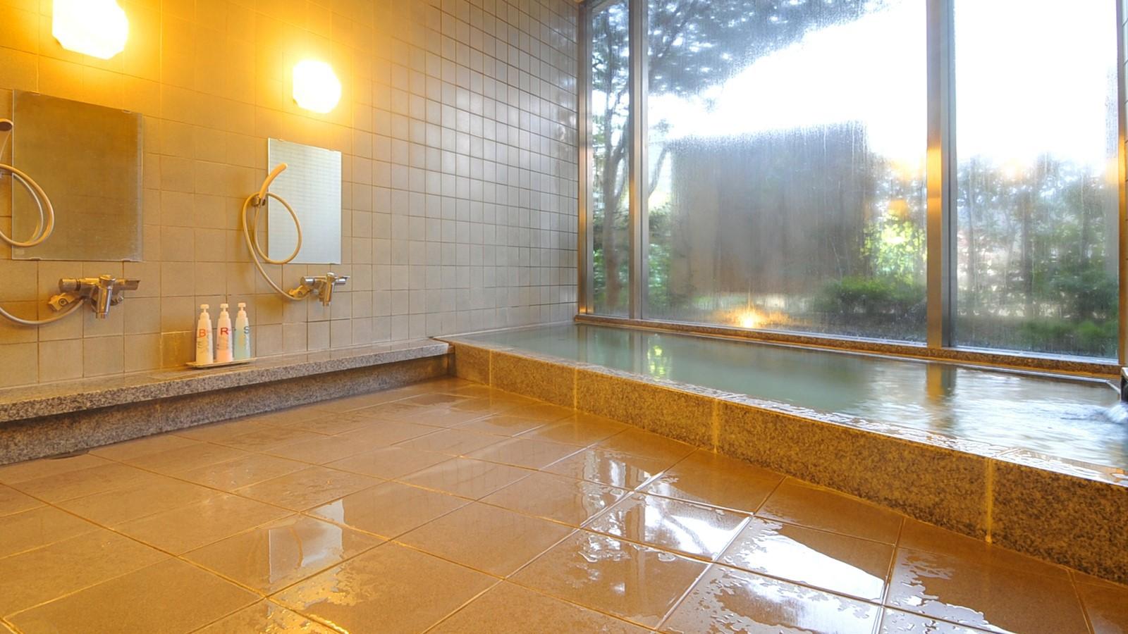大浴場(女性)/旅やゴルフで疲れた体を癒す大浴場