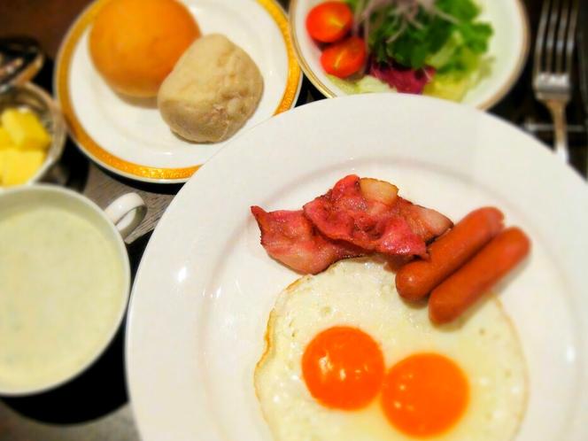 【和・洋から選べる朝食】洋定食