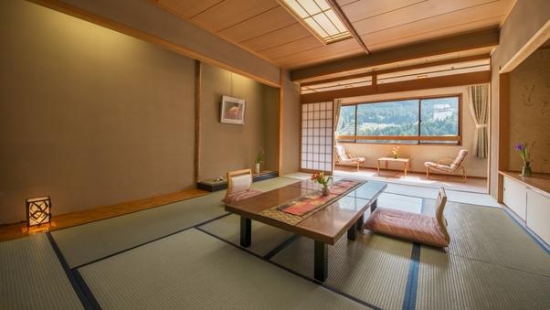 【大観荘】(和室12畳)〜鉄橋の見えるゆったり和室〜