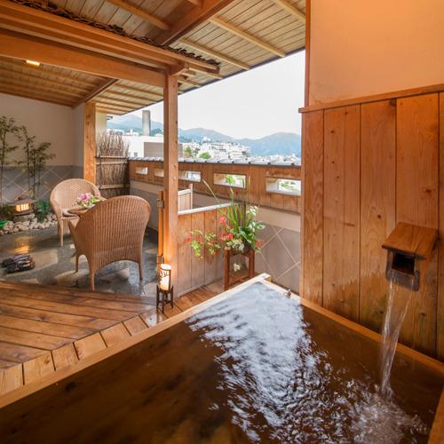 ◆「月のかたらい」露天風呂◆