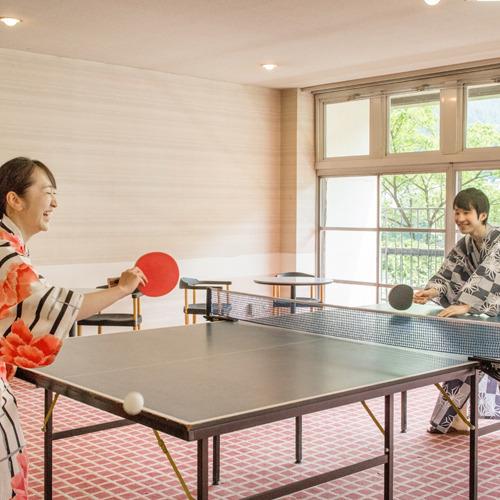 ◆卓球カップル◆