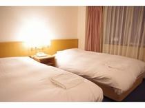 ■客室:全室「シモンズ製」ベッドを使用!安心な睡眠をお約束!