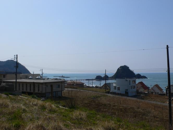 白山島と海