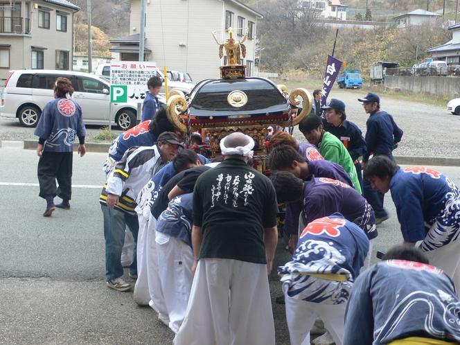 由良祭典の神輿