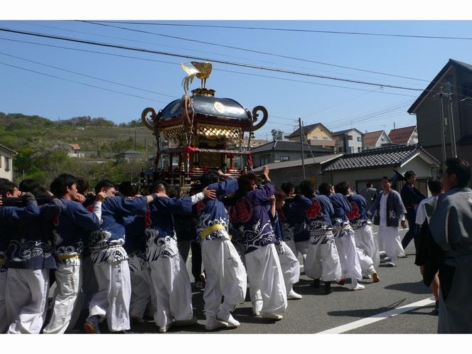 由良の祭り