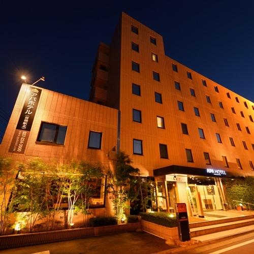 ホテル外観 夜景
