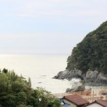 【周辺の景観】海が一望できます。