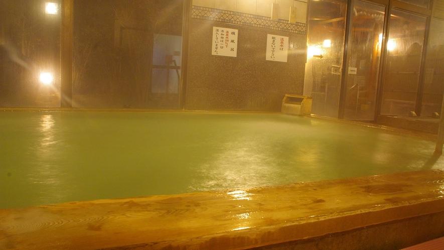 *■源泉100%、加水なしの天然温泉。