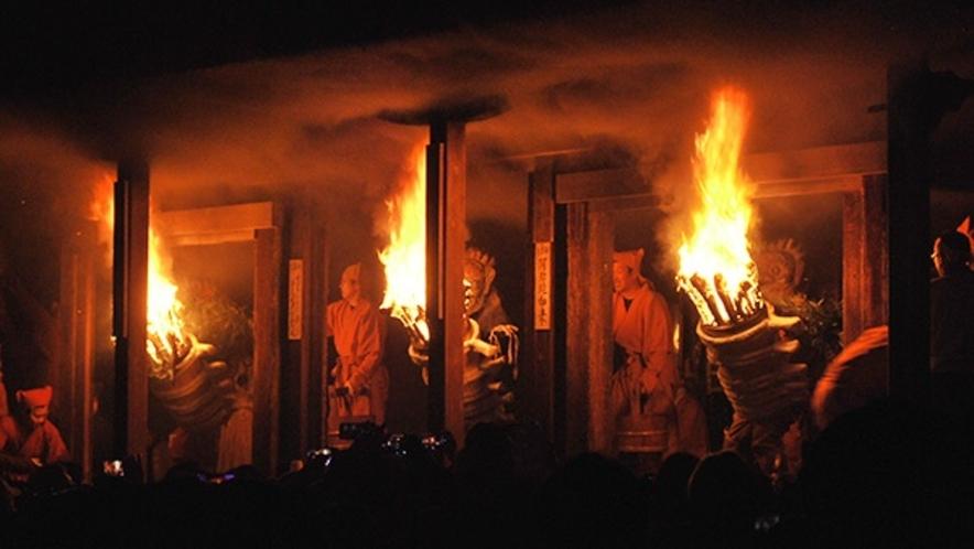 *【1月】室町時代から500年以上継承「念仏寺・陀々堂の鬼走り」日付も毎年14日です。