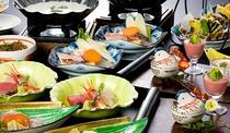 *雪懐石★画像は一例です。全12~13品の季節懐石料理。