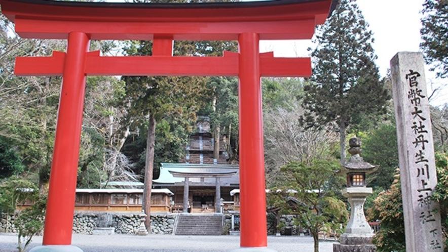 *丹生川上神社下社【黒滝村】☆日本最古の水神を祀る神社☆車で約40分。