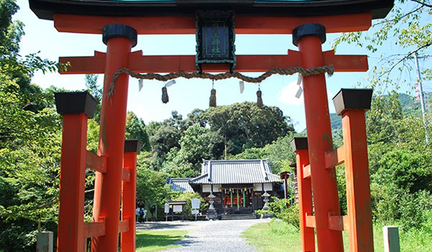 *丹生官省符神社【九度山町】「慈尊院」に裏手に鎮座。同じくユネスコの世界遺産の一部。車で約25分