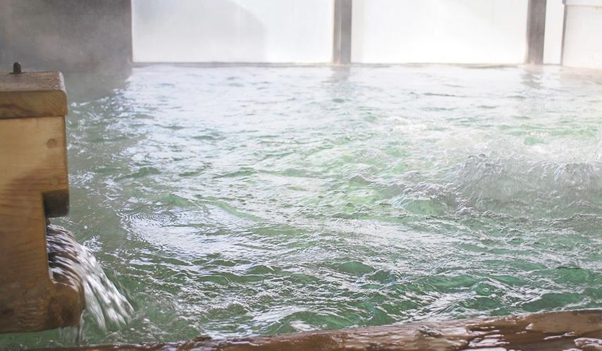 *源泉100%、加水なしの天然温泉。