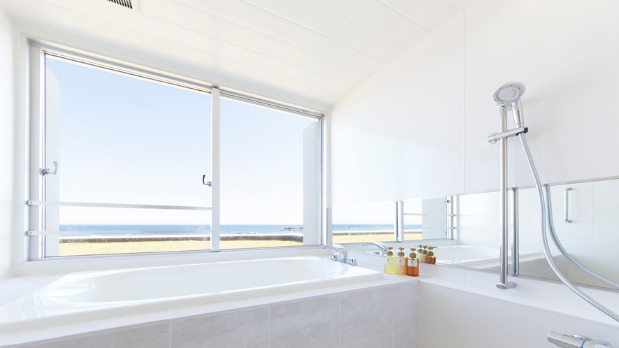 デラックスツインルーム バスルーム一例