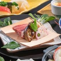 牛肉とフォアグラの西京焼 ロッシーニ仕立て♪ フォアグラが口の中でトロける!