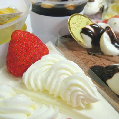 千歳市の有名パティスリー『もりもと本店』のケーキ付き(素泊まり)