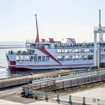 """熊本と島原を60分で結ぶ""""九商フェリー""""潮風を感じながら、のんびり旅がお好きな方はこちらがおすすめ♪"""