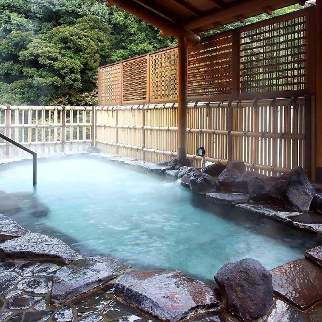 展望大浴場 桂の湯 露天風呂