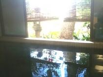 天然温泉コーヒー色した温泉!