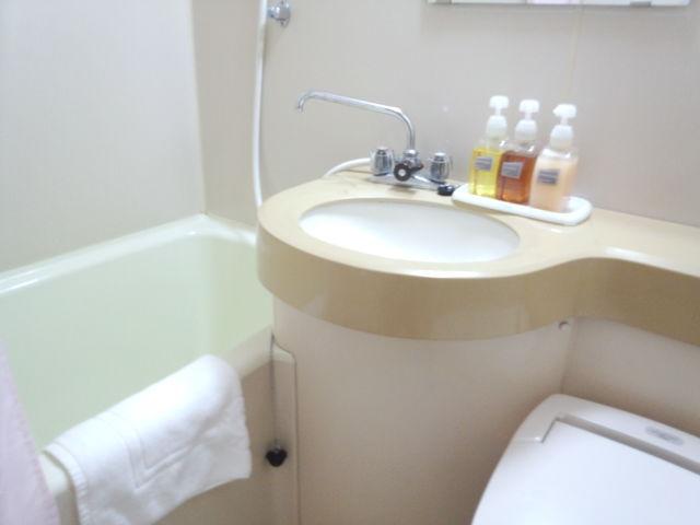 洋室ユニットバス一例トイレは全室洗浄機付きです。湯船サイズ(0.75坪)
