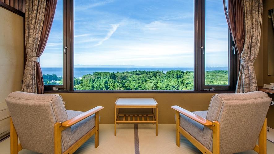 客室上階景観イメージ