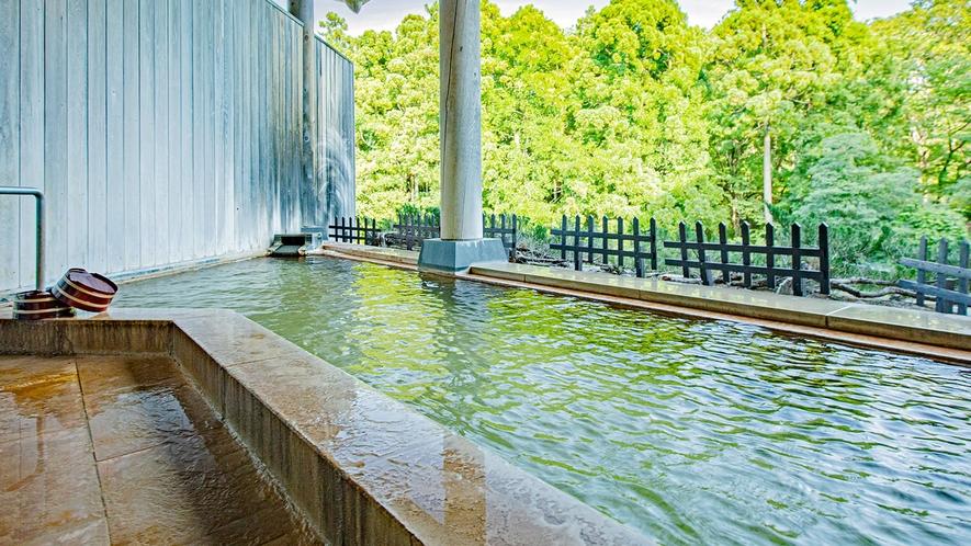 潮見館地下1階「樹海の湯(内風呂)」