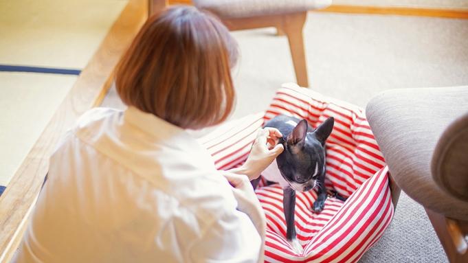 【愛犬記念日】ワンちゃんの記念日を温泉旅館で!<金目鯛もろみ醤油姿焚き+特選牛ステーキ>