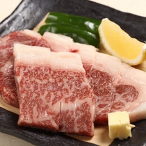 A5ランク十和田湖和牛のステーキ