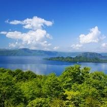 夏の十和田湖