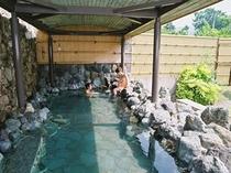 露天風呂【島根県・匹見峡温泉】