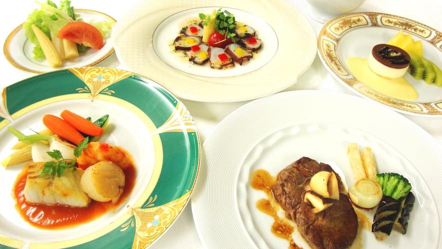 【洋食フルコース】料理長こだわりの本格創作洋食をお楽しみください
