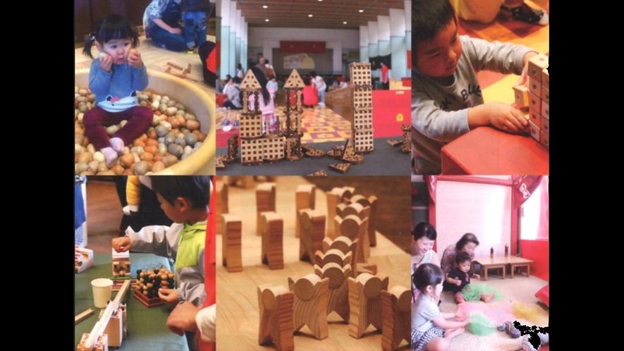 【鳥海山木のおもちや美術館】みんな木のおもちゃ大好き!
