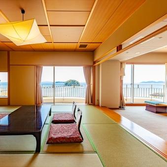 【7F特別室 ツイン+12.5畳+洋間】最大8名の広々和洋室