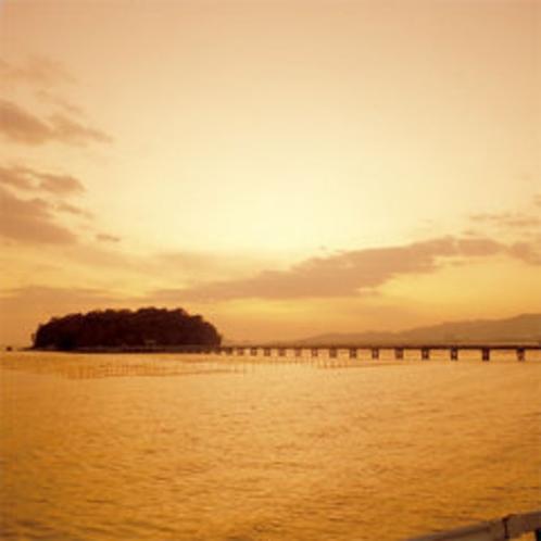 三河湾夕景