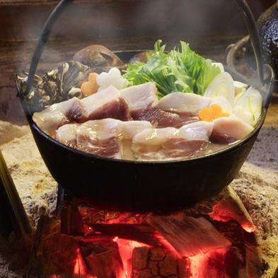 【人気急上昇!】もみじ鍋(鹿鍋)会席◆醤油仕立てのスープが肉の旨みを引き立てます