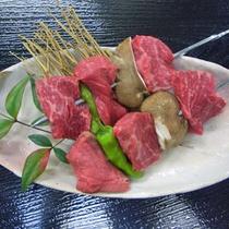 牛の串焼き