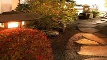 庭園にある石灯篭