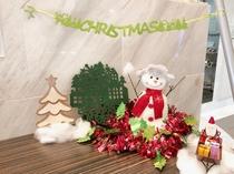 クリスマス飾り こんなところにもクリスマス飾り