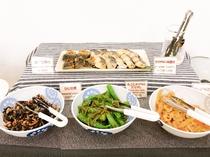 和食のおかずは日替わりでお楽しみ頂けます