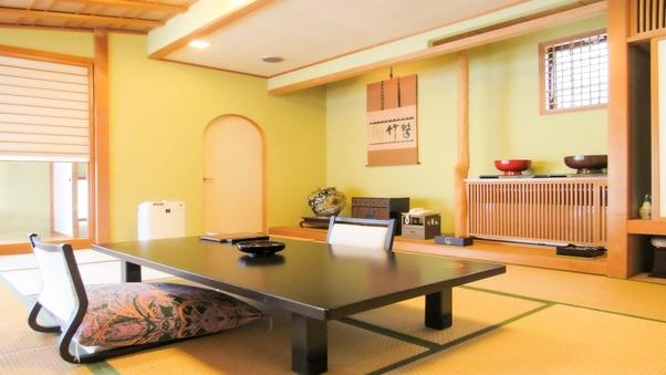 【和風別邸花月亭:特別和室】バス、専用天然温泉付