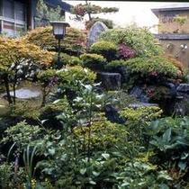 四季折々の草花が楽しめるお庭