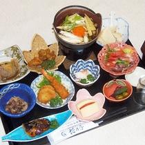 ・ビジネスプラン夕食メニュー例