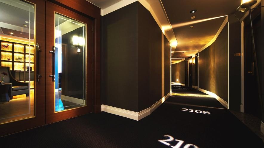【20・21階特別フロア】回廊