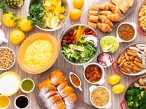 【レストラン「カシュカシュ」の朝食】野菜たっぷり「活ベジ」朝食