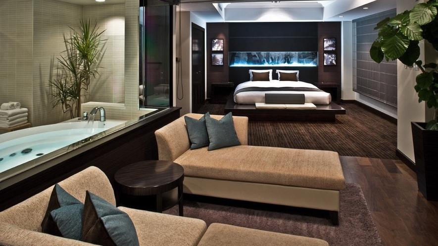 【View Bath Suite】2名定員・73平米(特別ルーム)