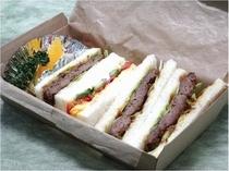【テイクアウト】人気☆!近江牛ハンバーグサンド